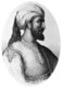 Abd al-Rahman I, or, his full name by patronymic record, Abd al-Rahman ibn Mu'awiya ibn Hisham ibn Abd al-Malik ibn Marwan (731-788) (Arabic: عبد الرحمن الداخل) was the founder of the Umayyad Emirate of Córdoba (755), a Muslim dynasty that ruled the greater part of Iberia for nearly three centuries (including the succeeding Caliphate of Córdoba).<br/><br/>  The Muslims called the regions of Iberia under their dominion al-Andalus. Abd al-Rahman's establishment of a government in al-Andalus represented a branching from the rest of the Islamic Empire, which had been usurped by the Abbasid overthrow of the Umayyads from Damascus in 750.<br/><br/>  He was also known by appellations al-Dakhil ('the Immigrant'), Saqr Quraish ('the Falcon of the Quraysh')and the 'Falcon of Andalus'. Variations of the spelling of his name include Abd ar-Rahman I, Abdul Rahman I and Abderraman I.